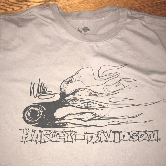 Harley Davidson Shirts Harleydavidson Willie G Original Sketch